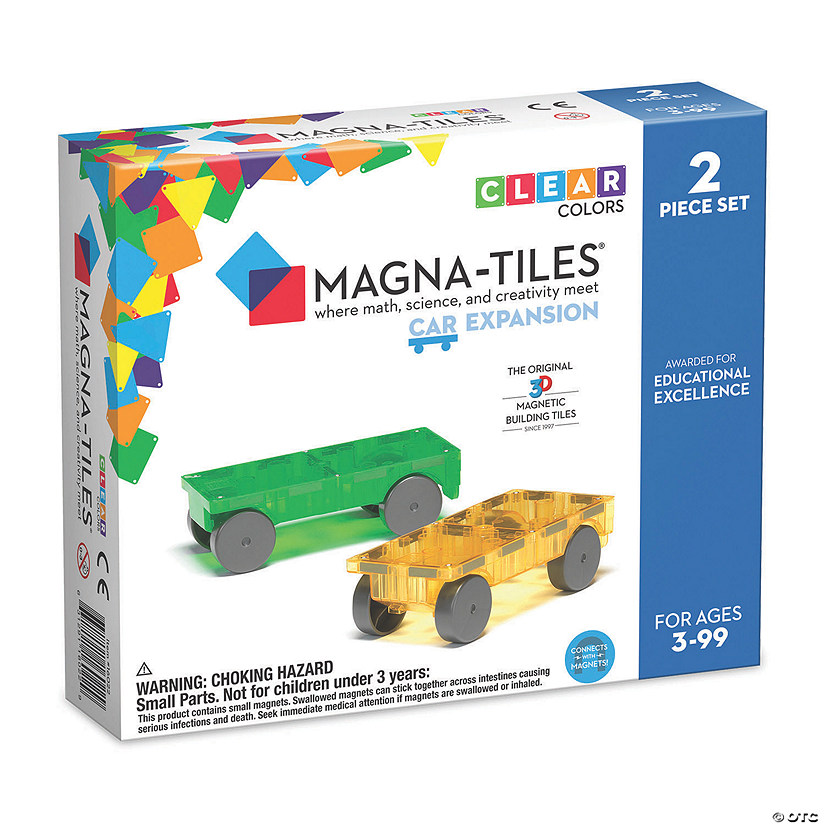 Magna-Tiles® Cars Expansion Set Image Thumbnail