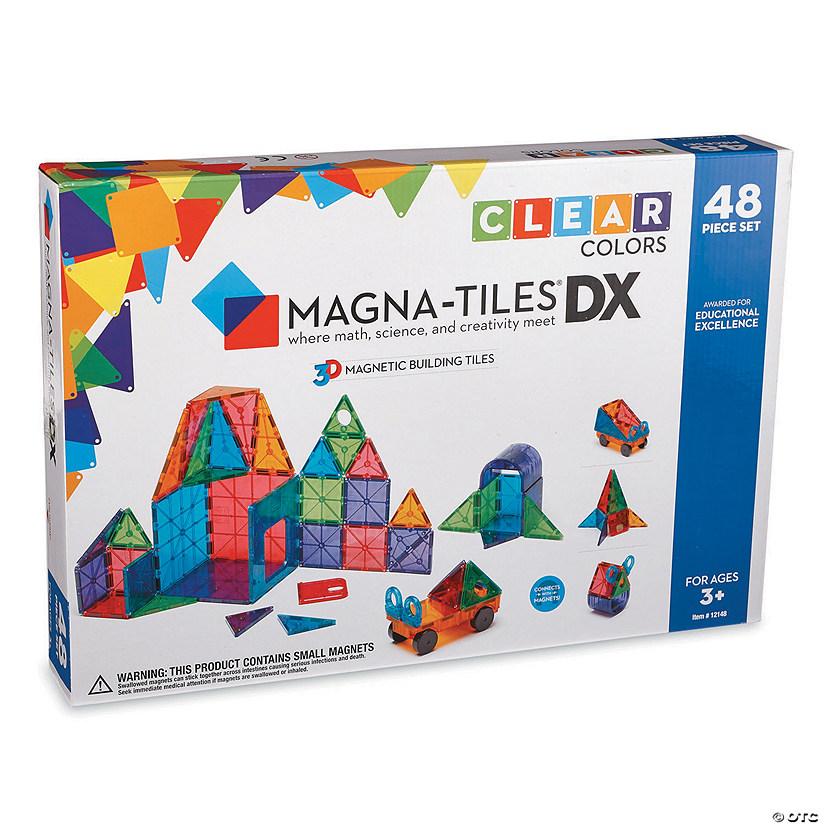 Magna Tiles Clear Colors 48 Piece Set
