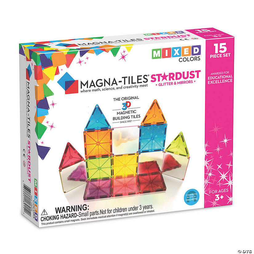 Magna-Tiles® Stardust Image Thumbnail