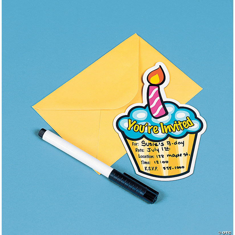 magnetic birthday invitations discontinued