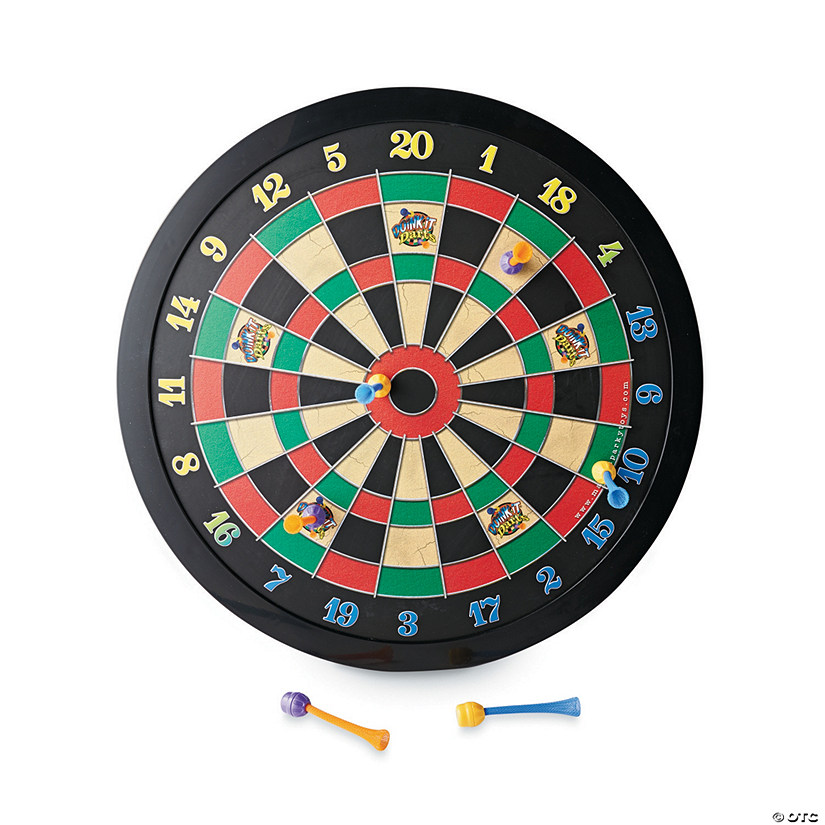 Magnetic Dartboard and Refill: Set of 2