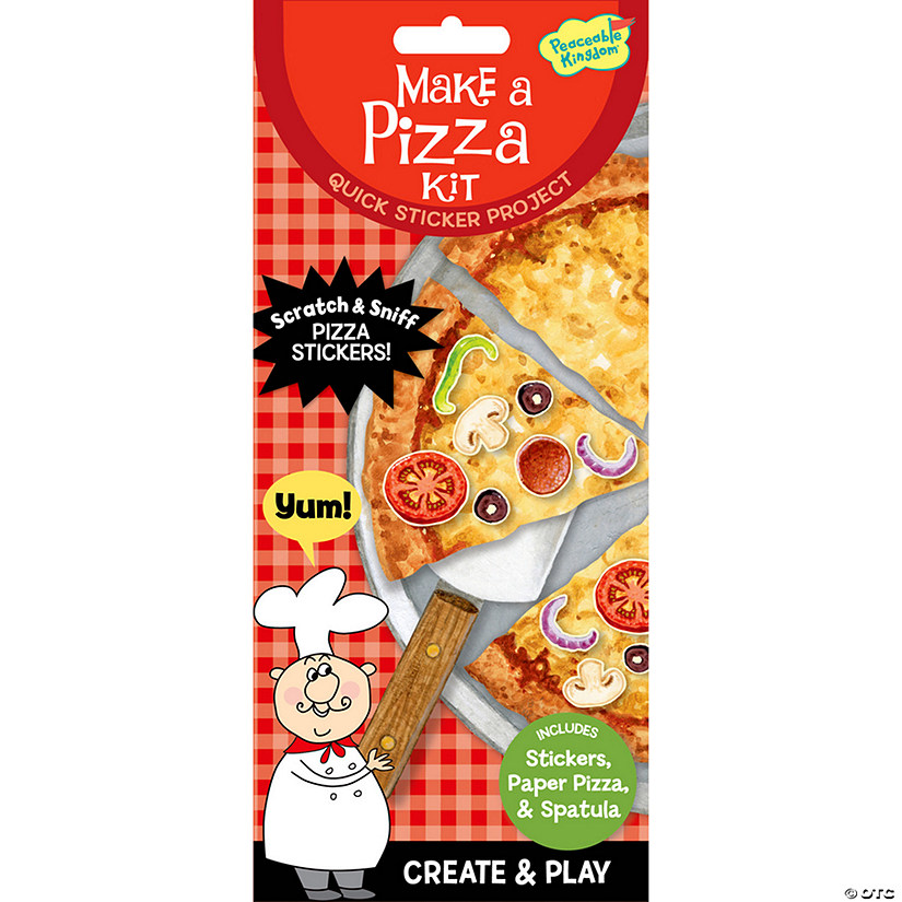 Make A Pizza Quick Sticker Kit Audio Thumbnail