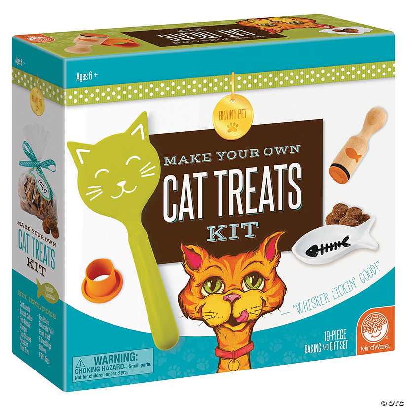 Make Your Own Cat Treats Kit Audio Thumbnail