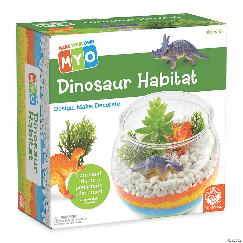 Make Your Own Dinosaur Habitat Image Thumbnail