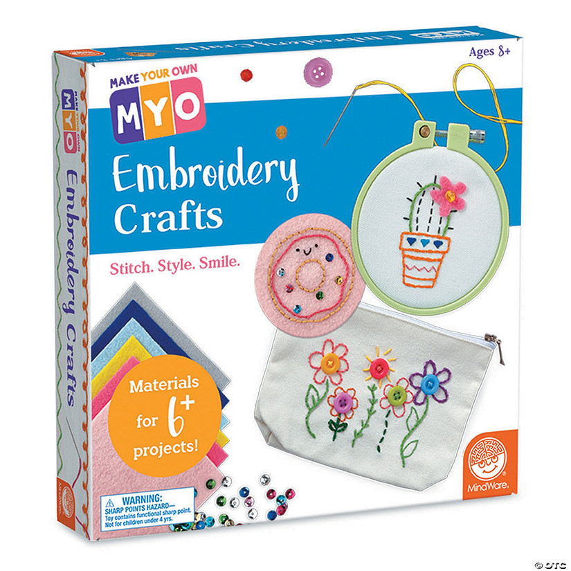 Make Your Own: Embroidery Crafts