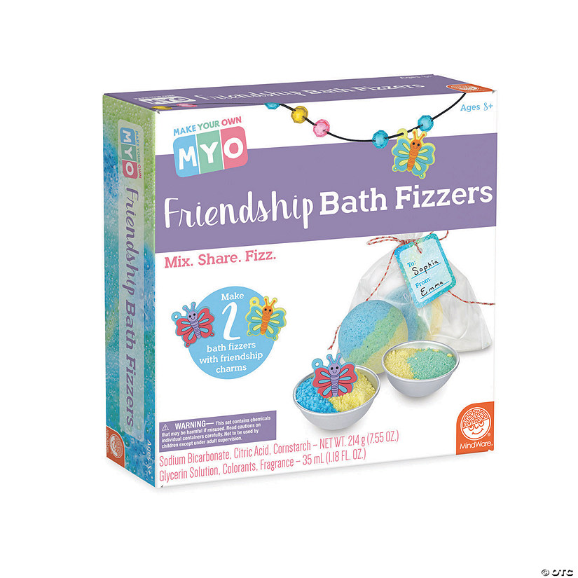 Make Your Own Friendship Bath Fizzers Audio Thumbnail
