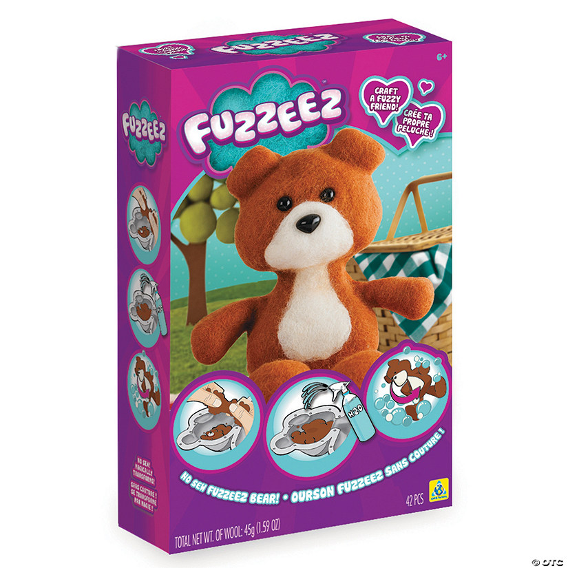 Make-Your-Own Fuzzeez Bear