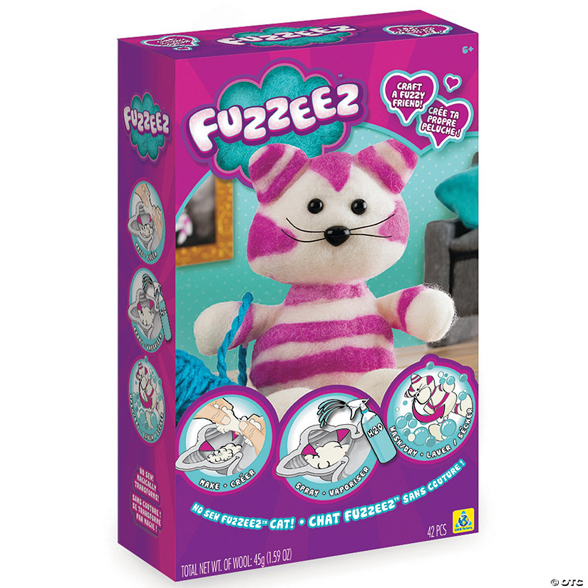 Make-Your-Own Fuzzeez Cat