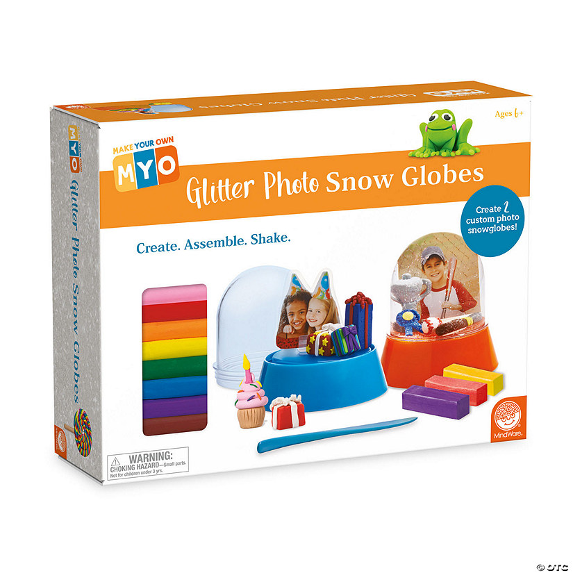 Make Your Own Glitter Photo Snow Globes Image Thumbnail
