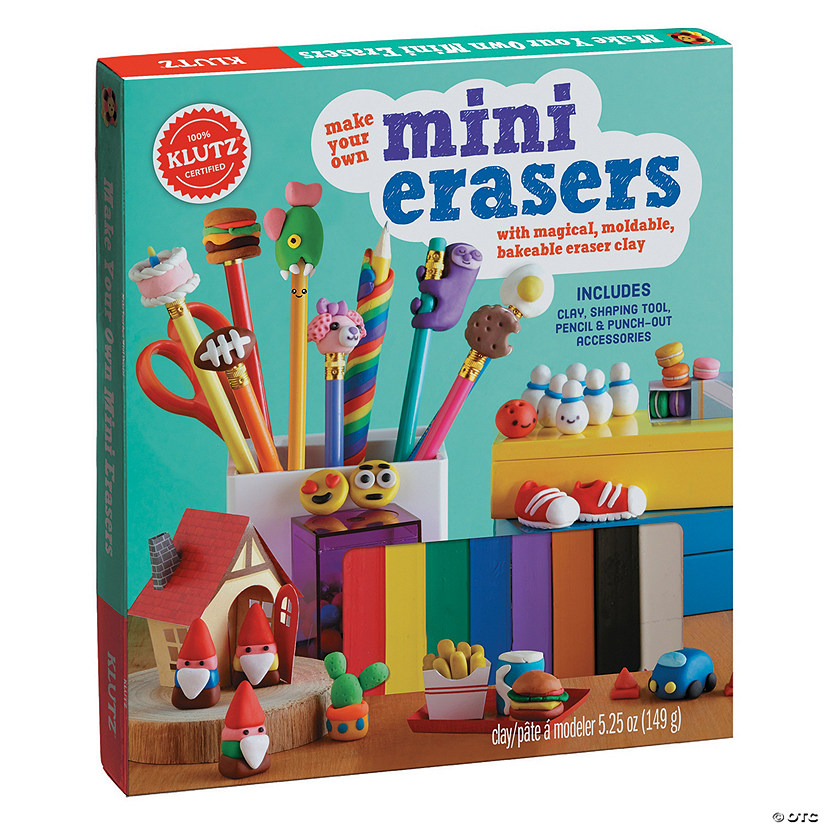 Make Your Own Mini Erasers Image Thumbnail