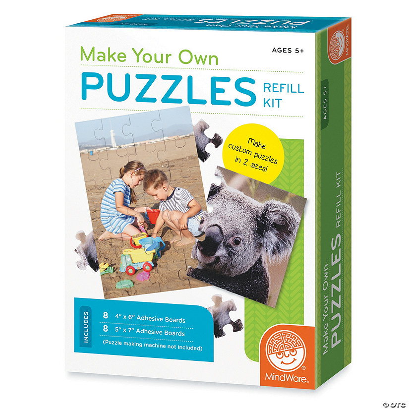 Make Your Own Puzzles: Refill Pack
