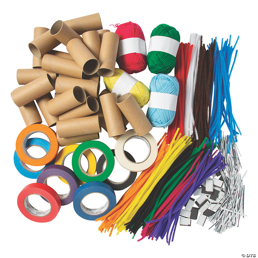 Makerspace Craft Supplies Boredom Buster Kit Image Thumbnail