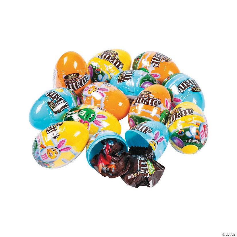 M&M's® Filled Plastic Easter Eggs - 12 Pc. Audio Thumbnail