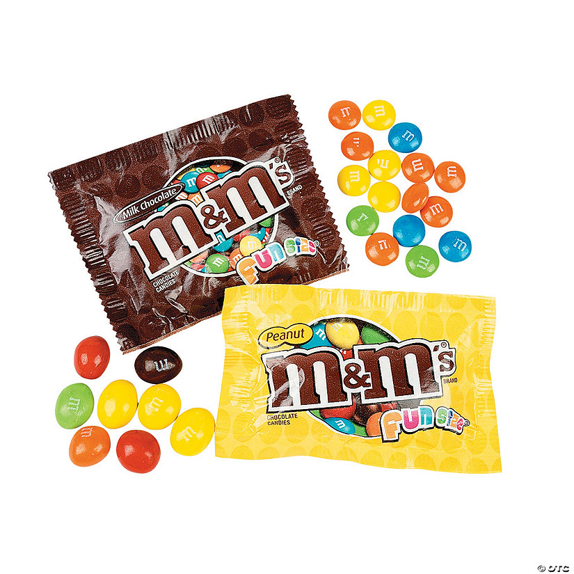 M&M's® Fun Size Milk Chocolate & Peanut Candy Mix Audio Thumbnail