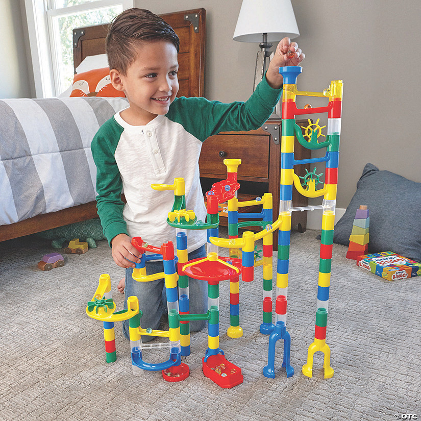 Marble Run: 103-Piece Set plus FREE Spiral Catcher Image Thumbnail