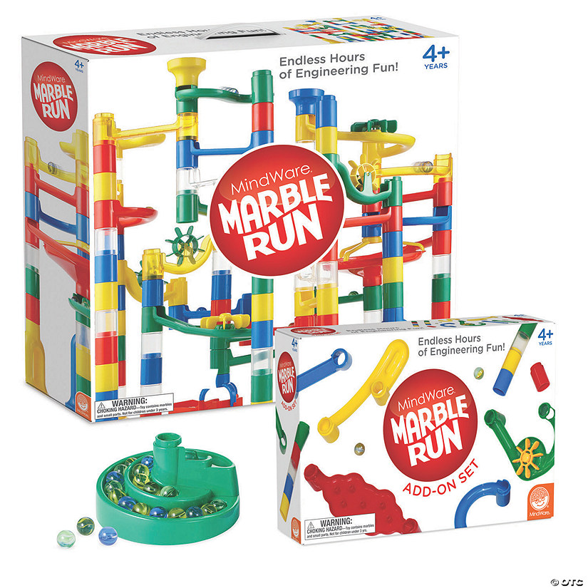Marble Run and Add-on Set plus FREE Spiral Catcher