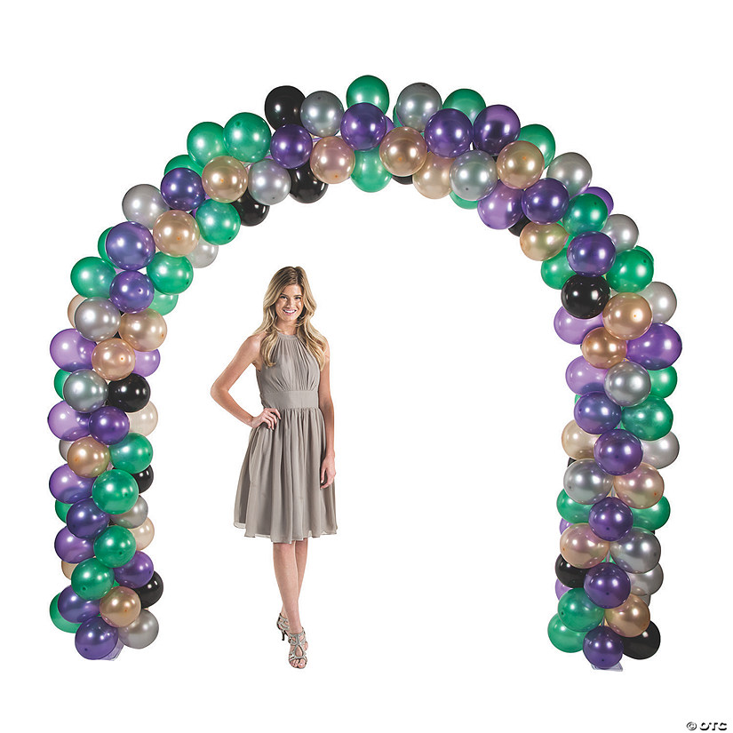 Mardi Gras Balloon Arch Kit Audio Thumbnail