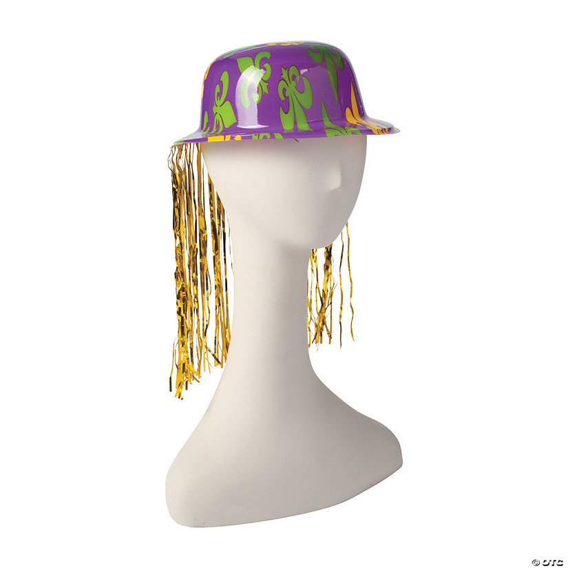 Mardi Gras Derby Hats with Tinsel Audio Thumbnail