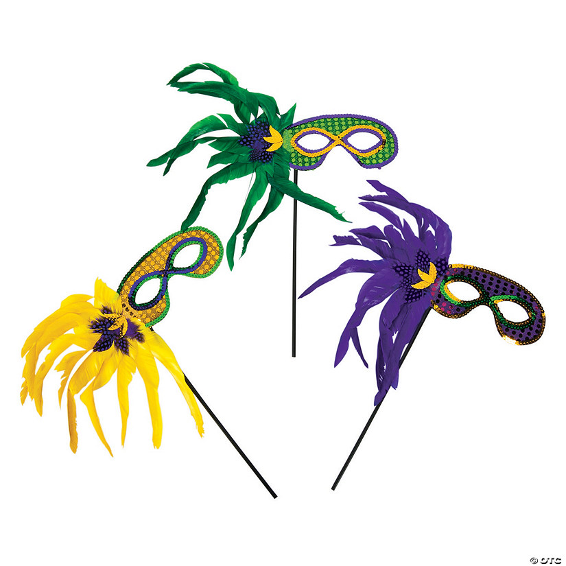 Mardi Gras Feather Masks Audio Thumbnail