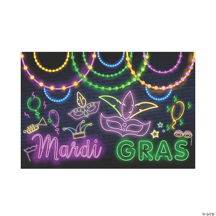 Mardi Gras Glow Backdrop Audio Thumbnail