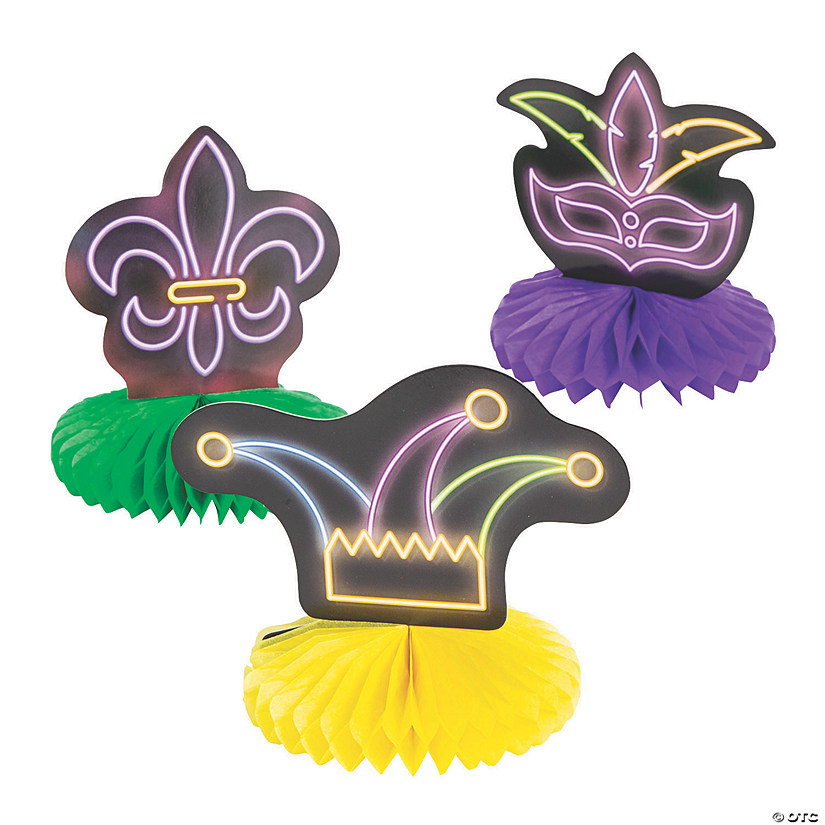 Mardi Gras Honeycomb Centerpieces Audio Thumbnail
