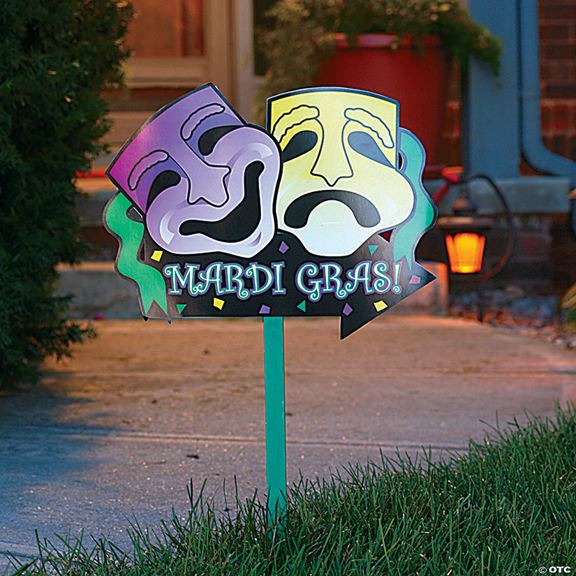 Mardi Gras Yard Sign Audio Thumbnail