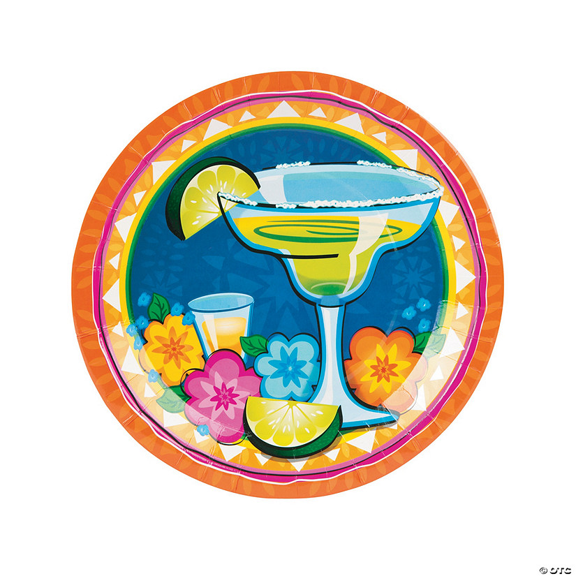 Margarita Fiesta Paper Dinner Plates - 8 Ct. Audio Thumbnail