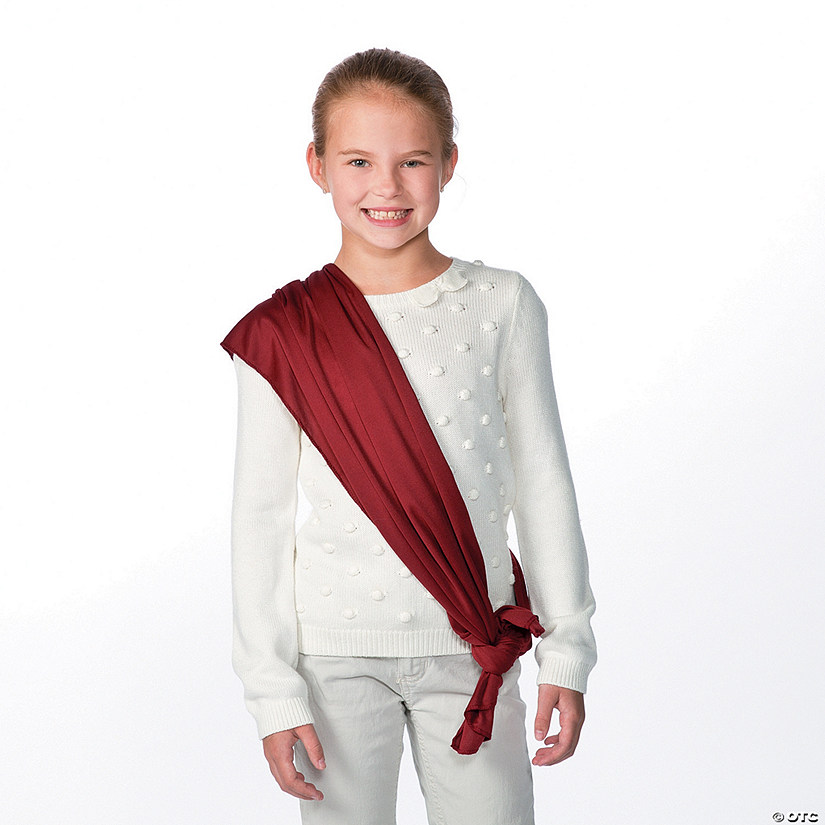 Maroon Costume Belt/Sash Audio Thumbnail