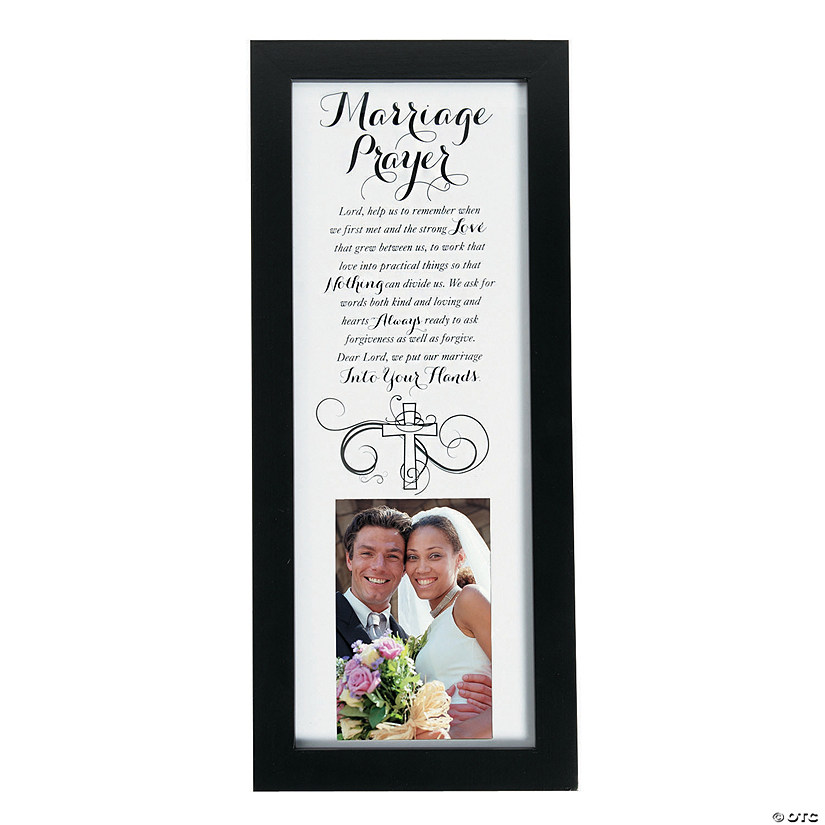 Marriage Prayer Picture Frame