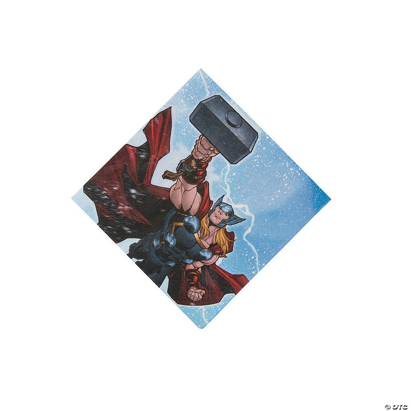 Marvel Avengers™ Beverage Napkins Audio Thumbnail