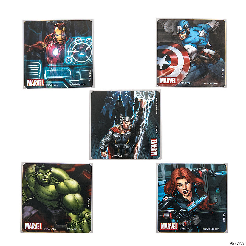 Marvel Avengers™ Classic Stickers Audio Thumbnail