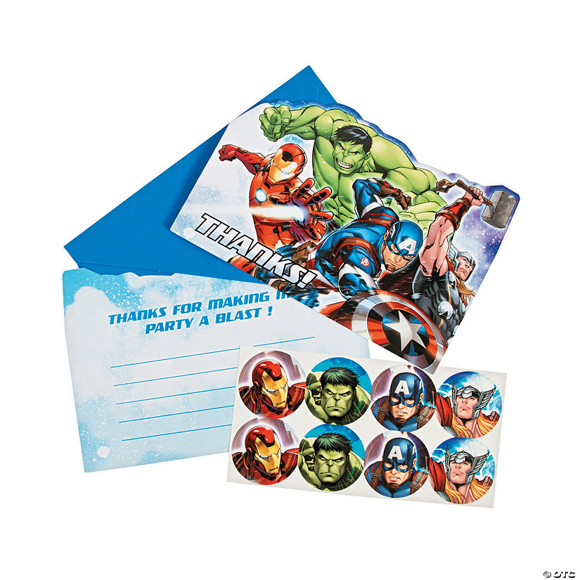 Marvel Avengers™ Thank You Cards Audio Thumbnail