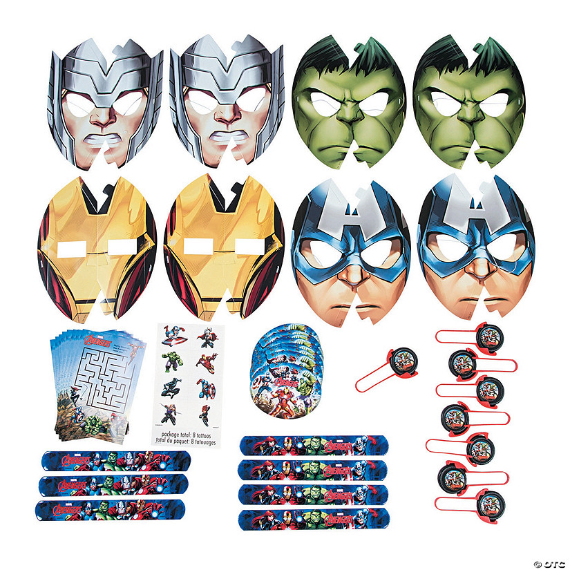 Marvel Comics The Avengers™ Favor Pack Image Thumbnail