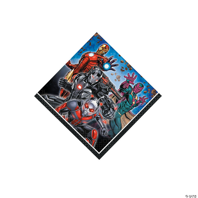 Marvel Comics The Avengers<sup>&#8482;</sup> Beverage Napkins Audio Thumbnail
