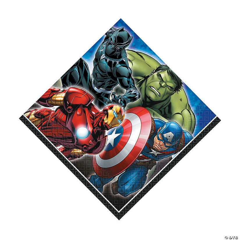 Marvel Comics The Avengers<sup>&#8482;</sup> Luncheon Napkins Audio Thumbnail