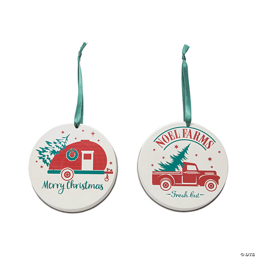 Mason Jar Lid Nostalgic Camper and Truck Ornaments Audio Thumbnail