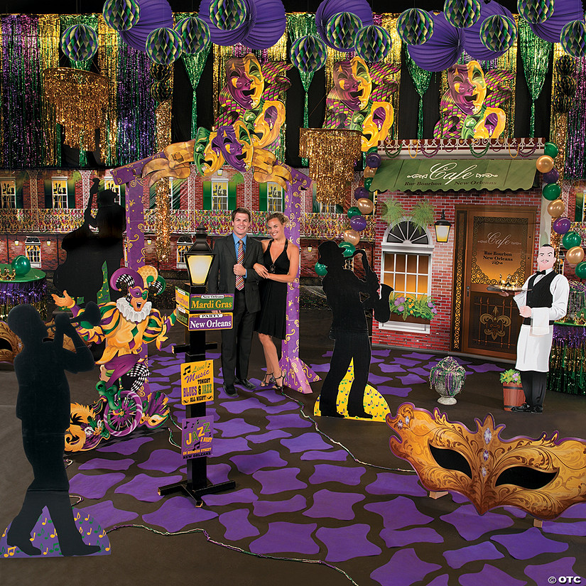 Masquerade New Orleans Grand Decorating Kit Oriental Trading