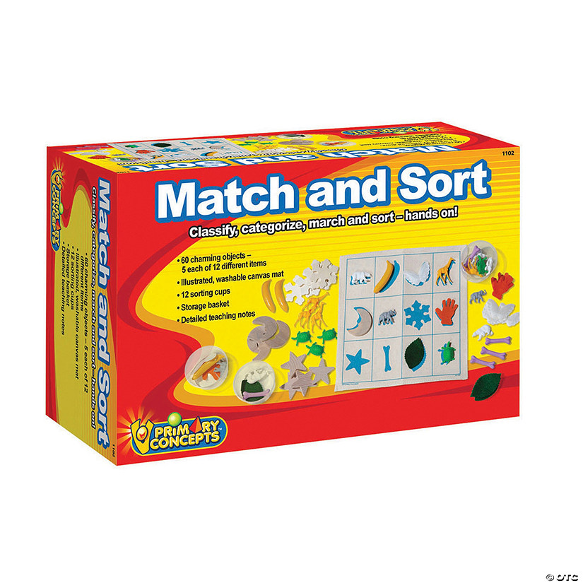 Match and Sort Kit - Objects, Cups, Mat and Baskets Audio Thumbnail