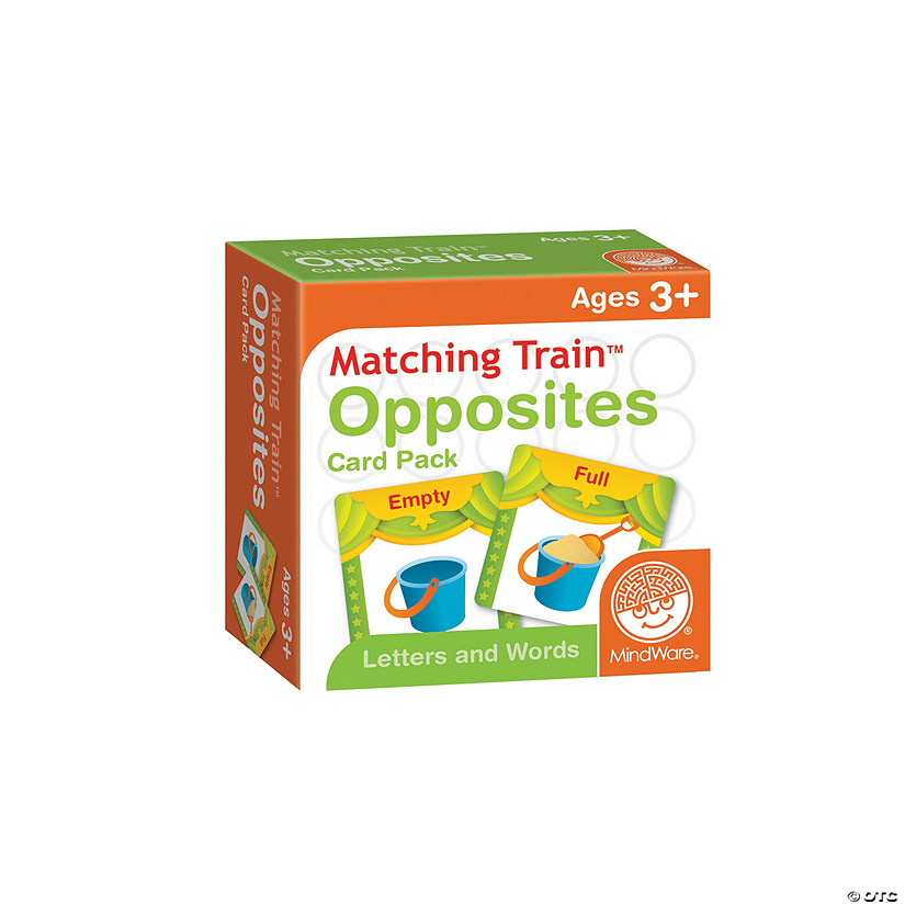 Matching Train: Opposites Card Pack