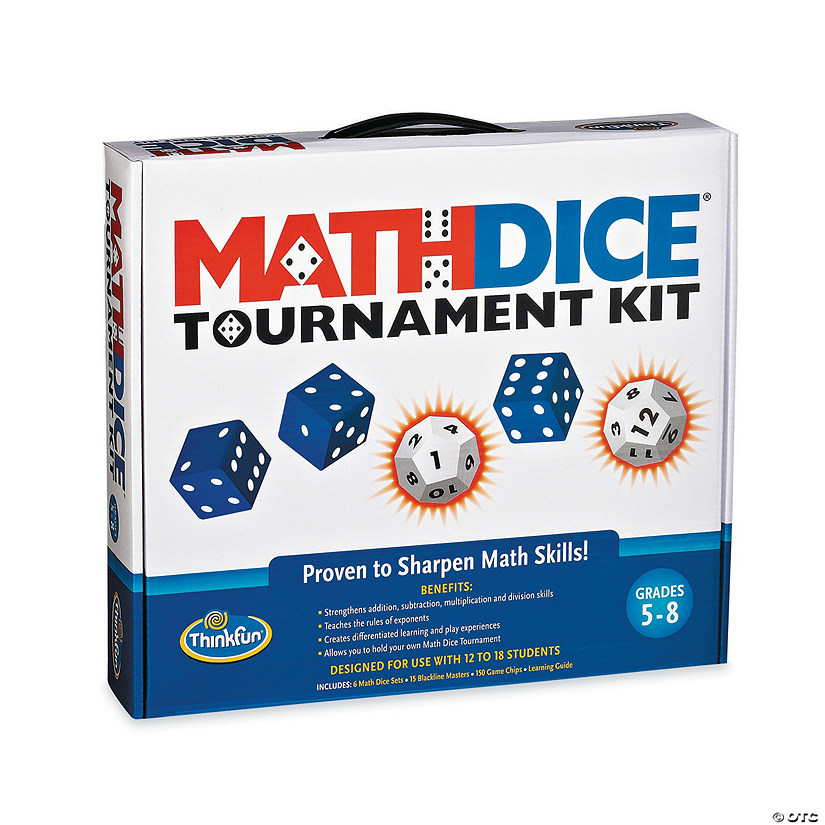 Math Dice Tournament Image Thumbnail