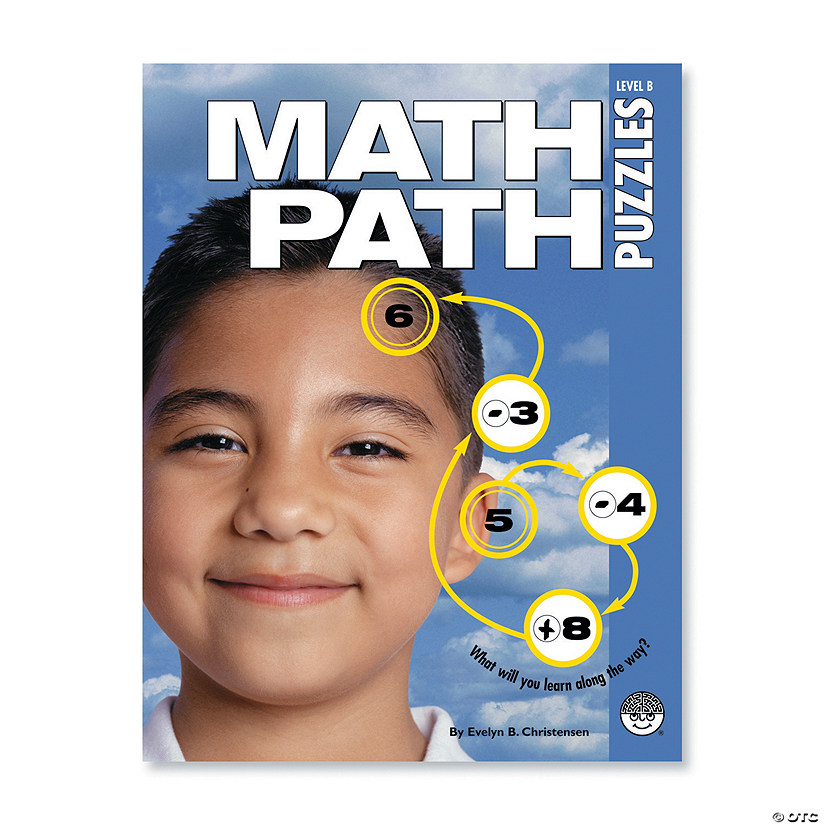 Math Path Puzzles: Level B
