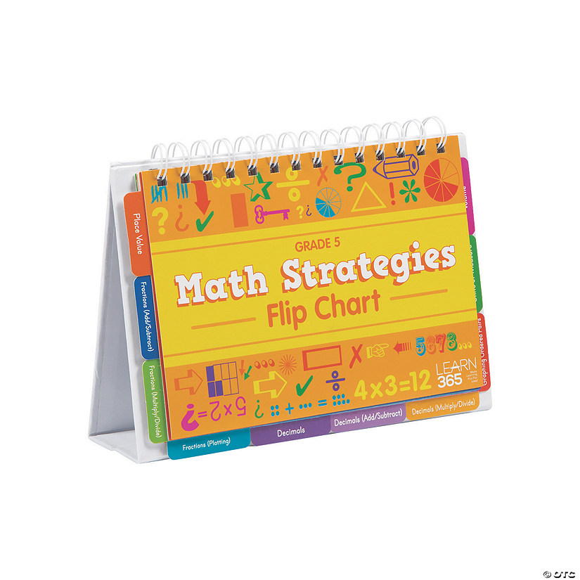 Math Strategies Flip Books - Grade 5