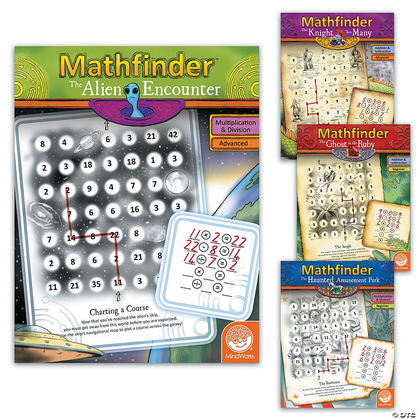 Mathfinder Books: Set of 4