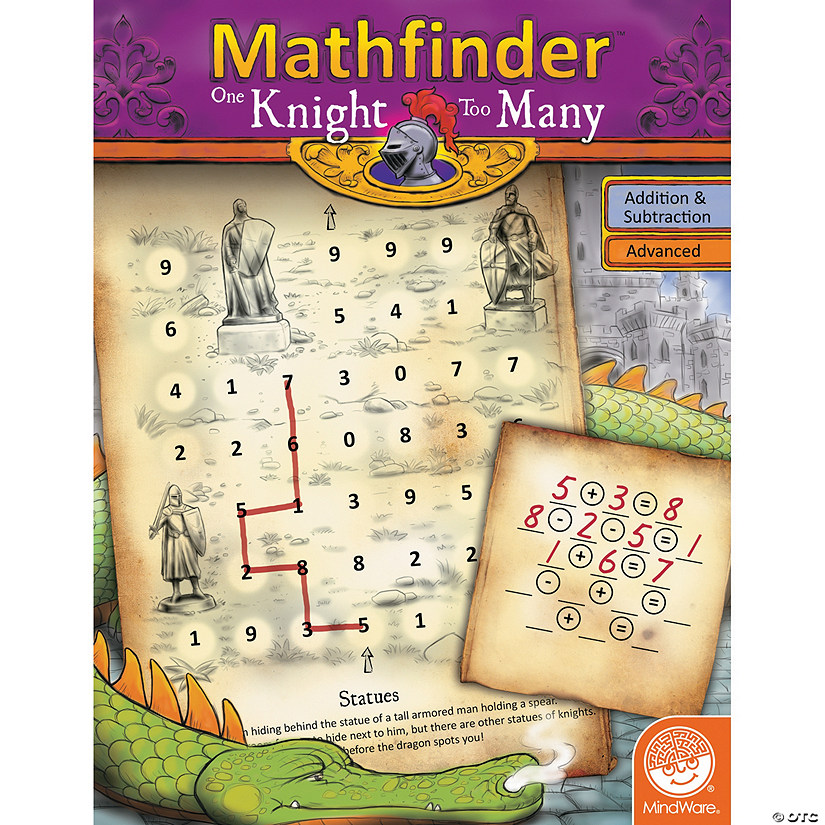 Mathfinder: One Knight Too Many (advanced addition/subtraction) Audio Thumbnail