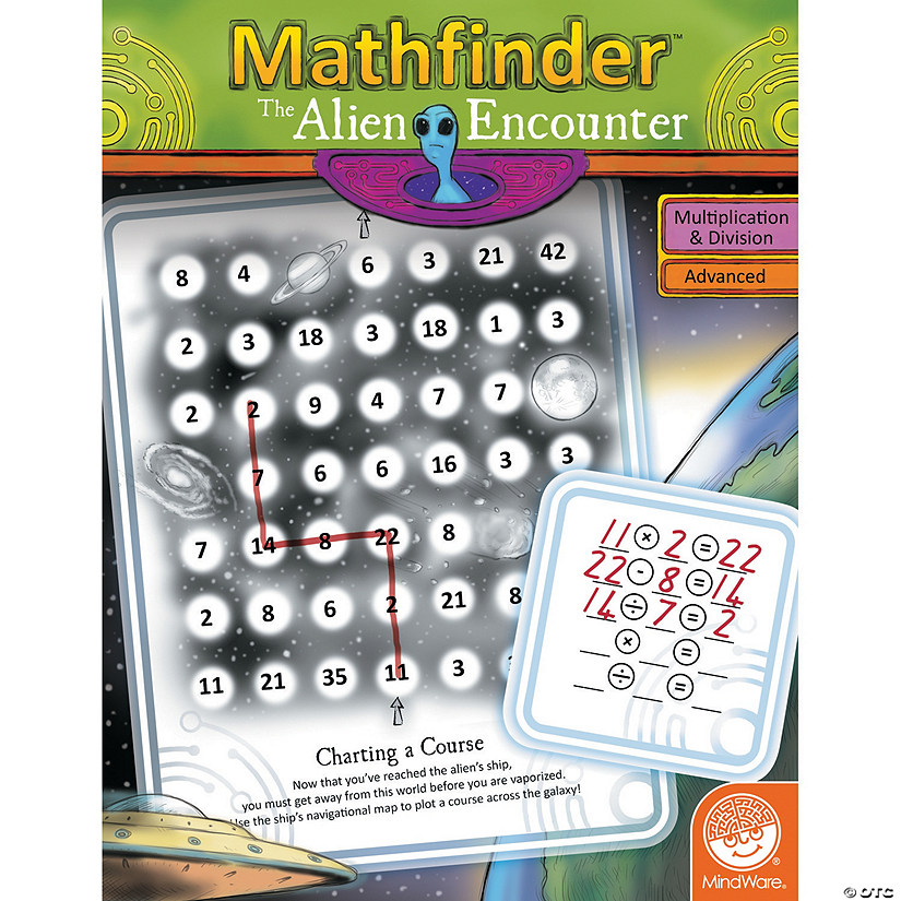 Mathfinder: The Alien Encounter (advanced multiplication/division) Audio Thumbnail