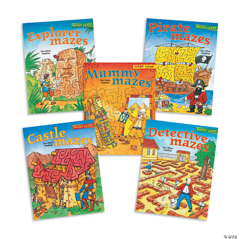 Maze Craze Books: Set of 5 Image Thumbnail