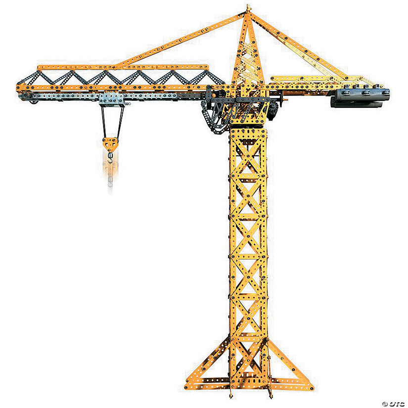 Meccano Tower Crane Set Image Thumbnail