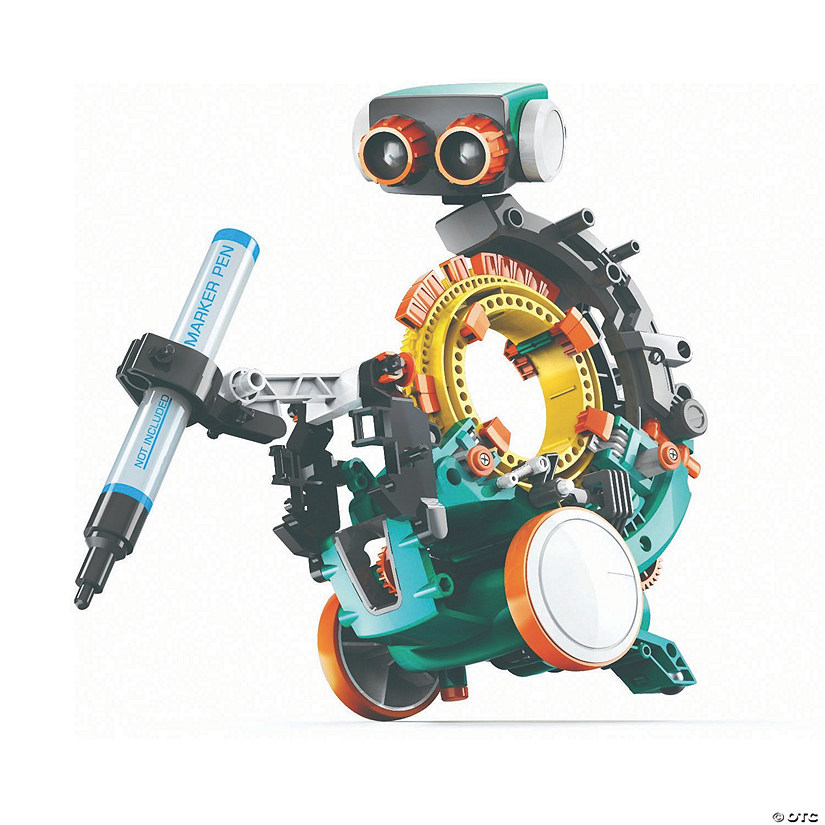 Mech5 Mechanical Coding Robot Image Thumbnail
