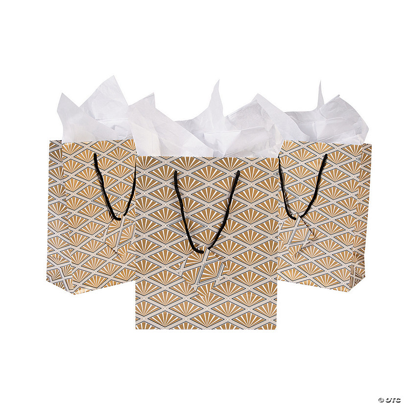 Medium Art Deco Gift Bags with Tags Audio Thumbnail