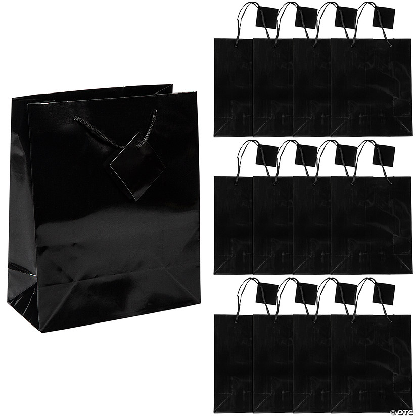 Medium Black Gift Bags Audio Thumbnail